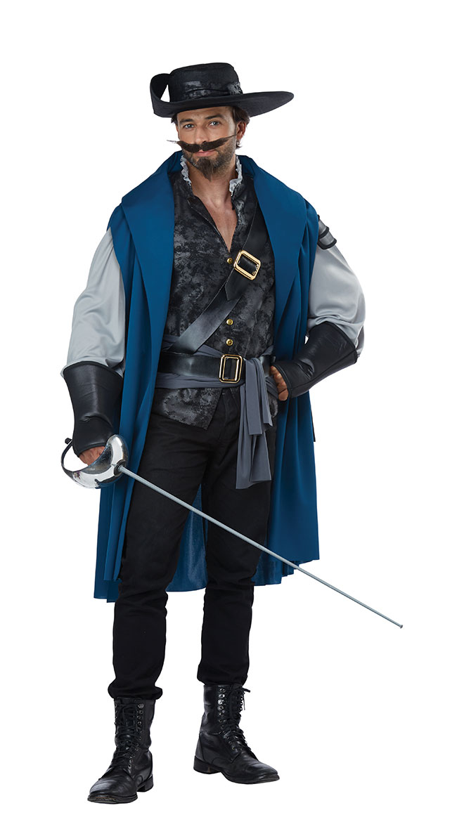 Deluxe Men's Musketeer Costume by California Costumes