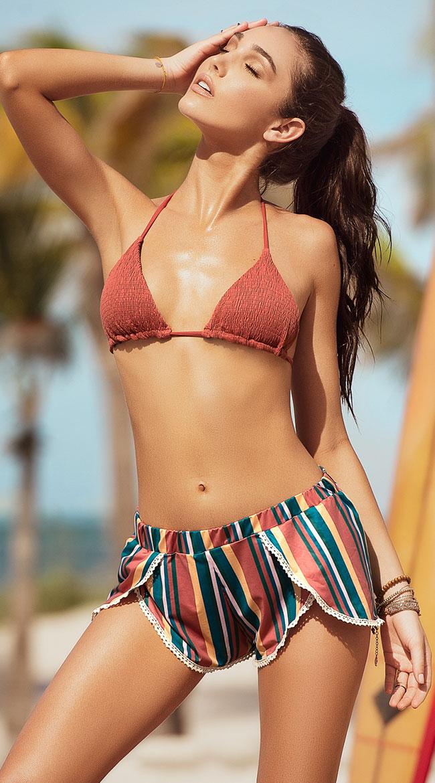 Desert Dusk Stripe Beach Shorts by Mapale