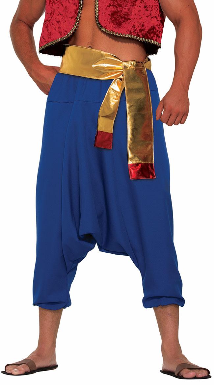 Desert Prince Blue Pants by Forum Novelties / Men's Draping Pants