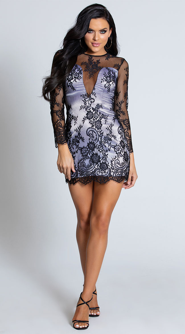 Dessert First Lace Dress by Roma