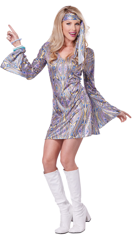 Disco Sensation Costume by California Costumes