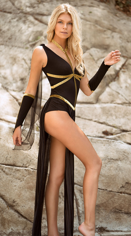 Divine Dark Goddess Costume by Leg Avenue