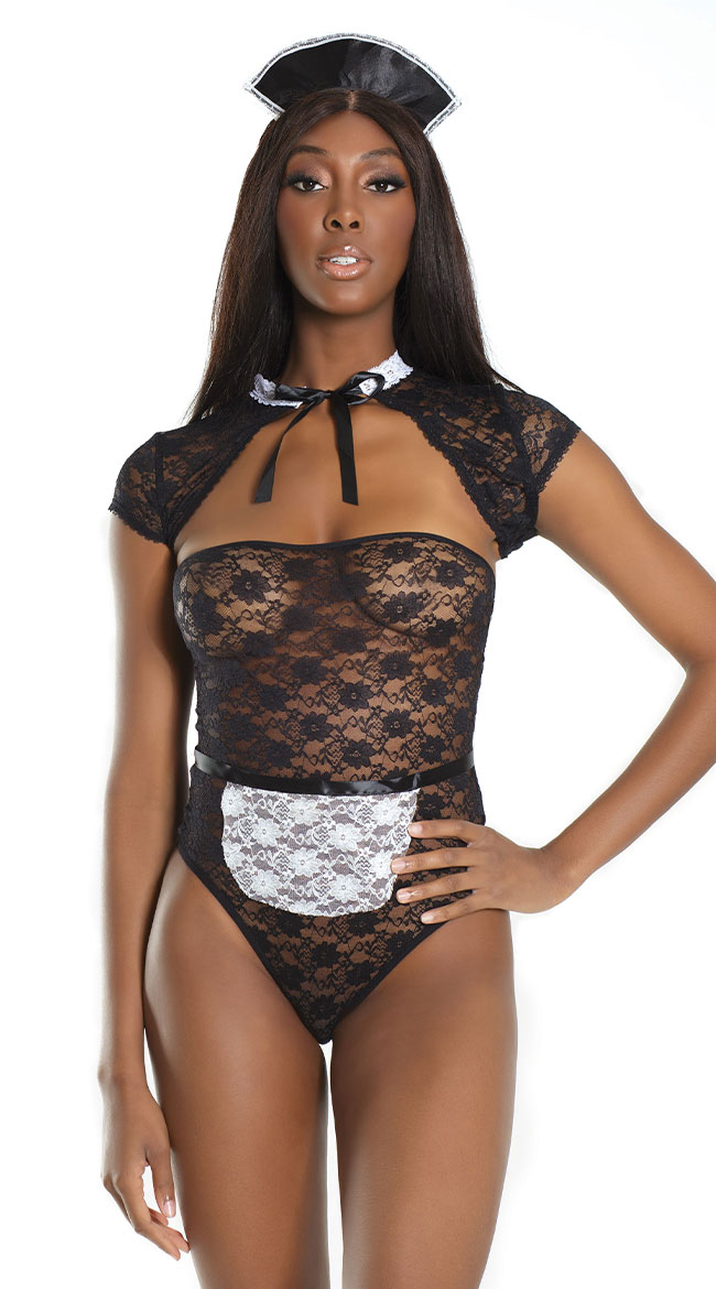 Do Not Disturb Lingerie Costume by Coquette
