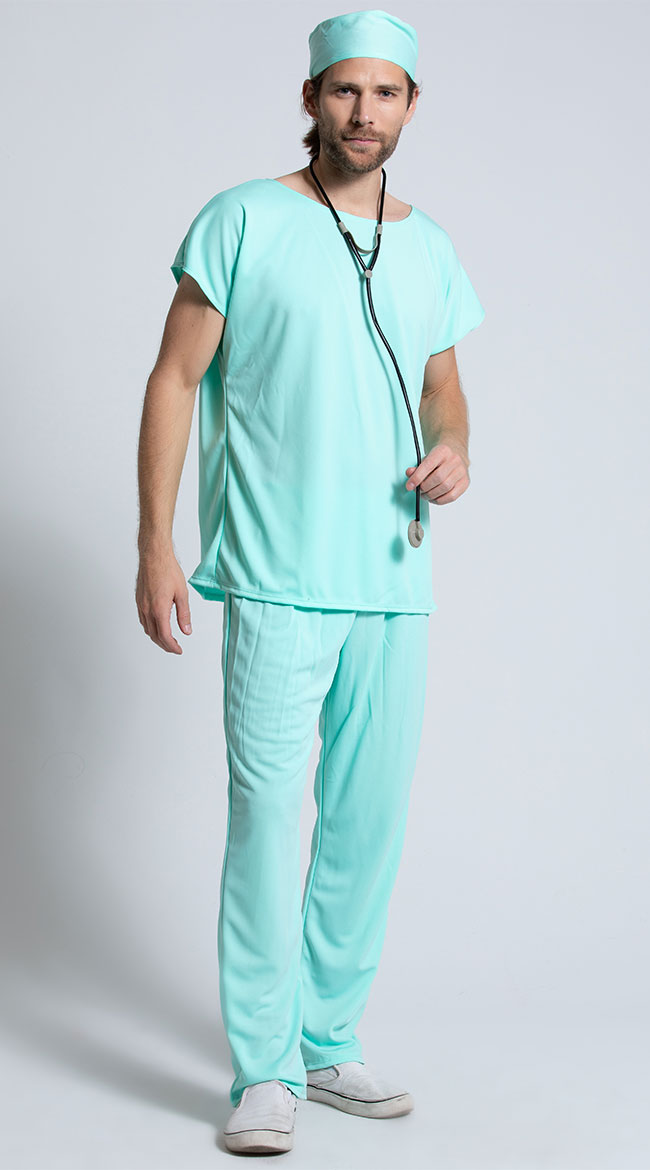 Doctor Scrubs Costume by California Costumes
