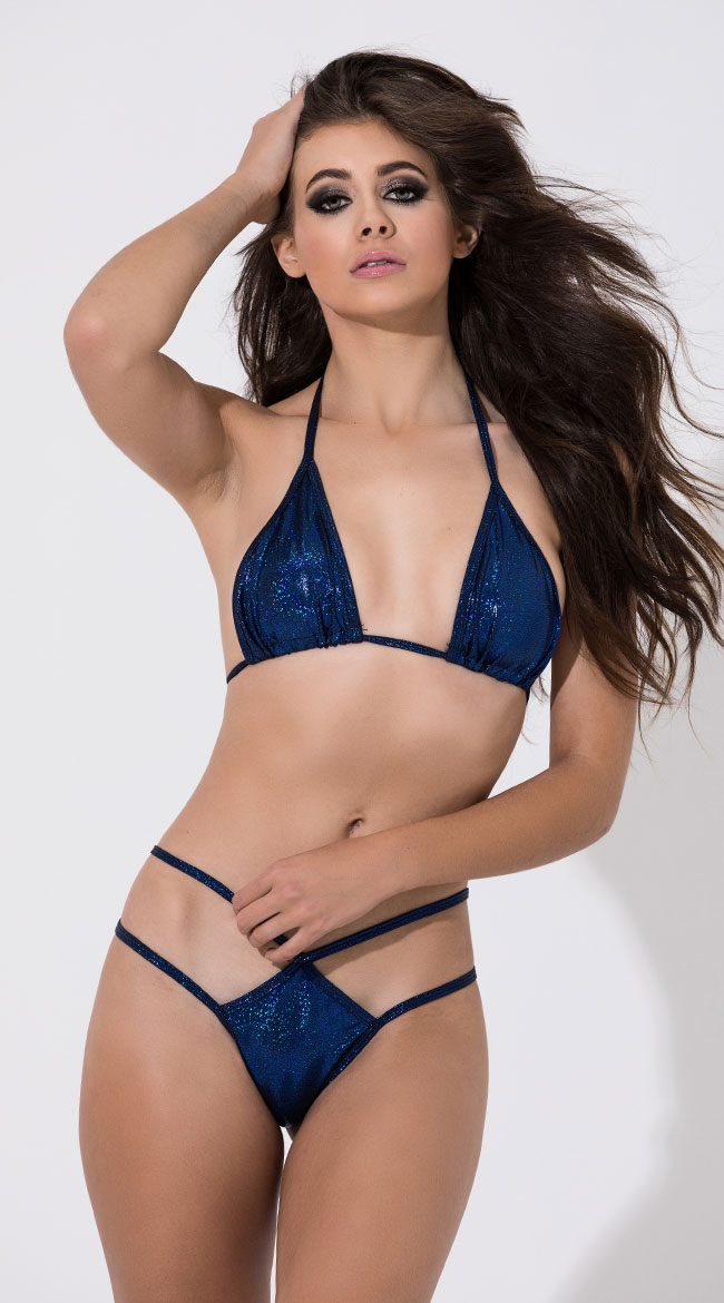 Double Strapped Twinkling Panty by Midnight Ballerina
