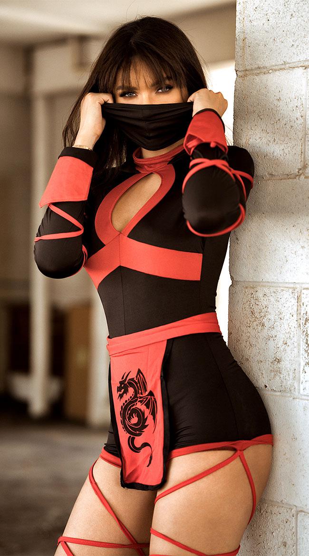 Dragon Ninja Costume by Leg Avenue