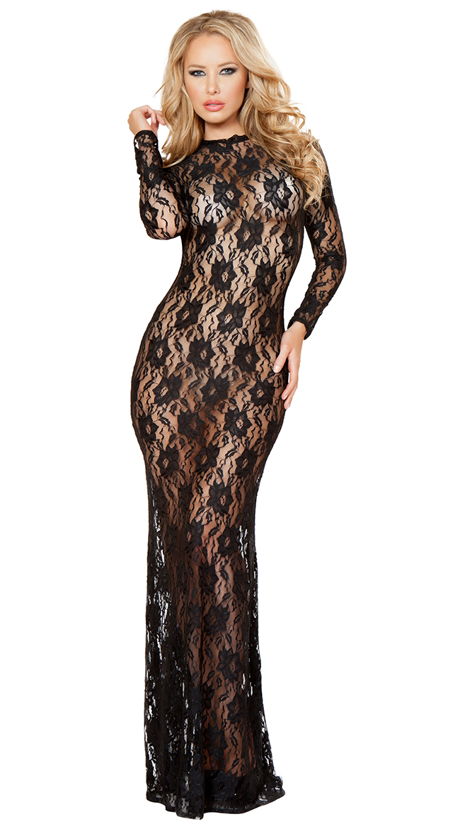 Draped in Lace Dress by Roma