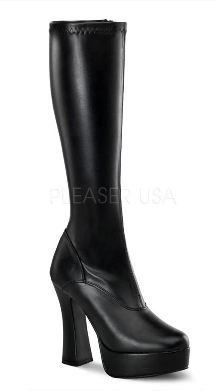 """Electra 5"""" Heel Platform Boot by Pleaser"""