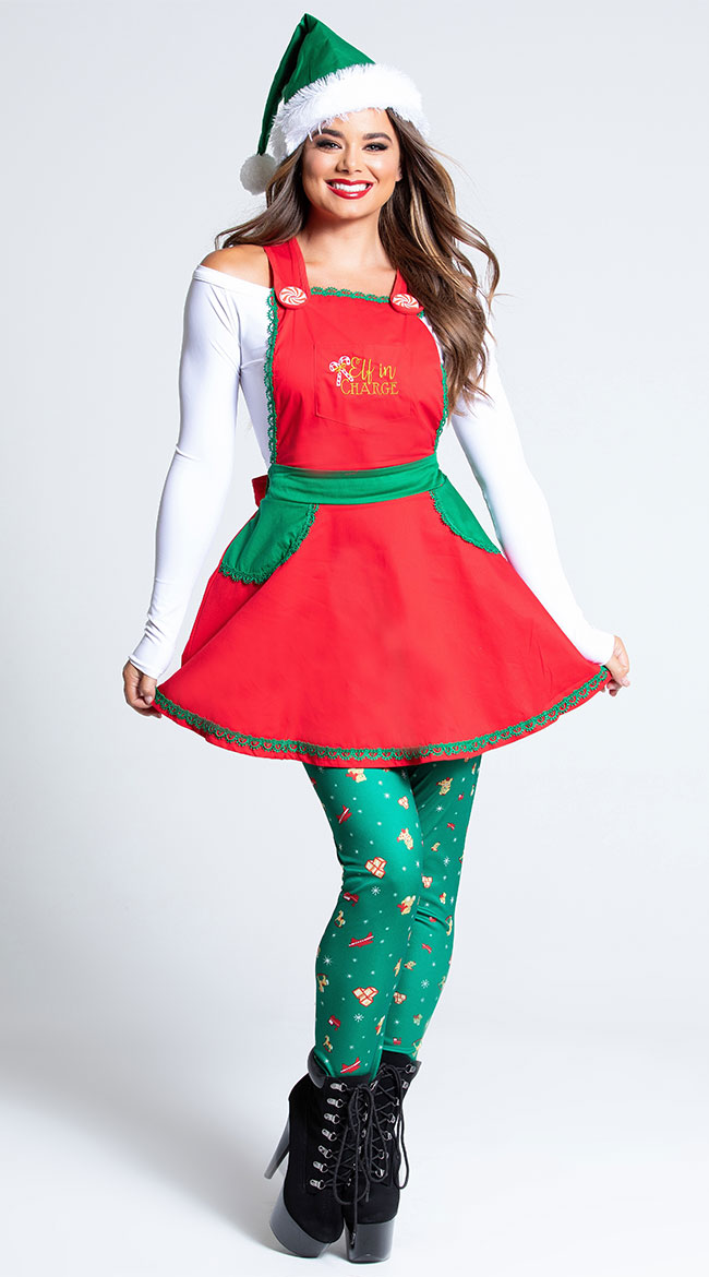 Elf In Charge Costume by California Costumes