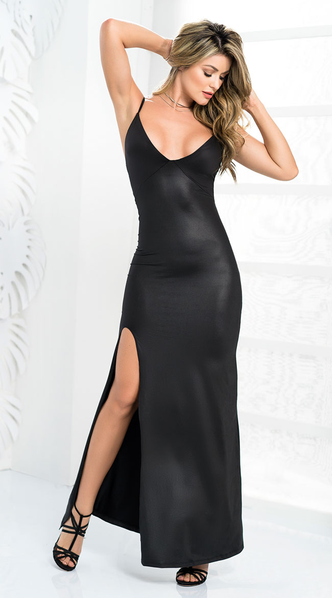 Enchanting Black Gown by Mapale