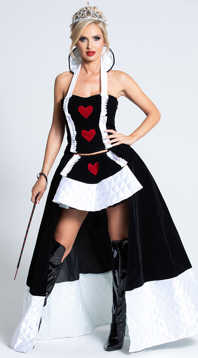 Enchanting Queen of Hearts Costume by Roma