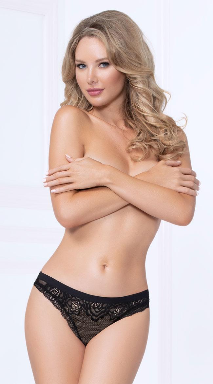 Fancy Flirt Thong Panty by Seven 'Til Midnight