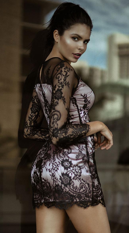 Fantasies Fulfilled Mini Dress by Roma