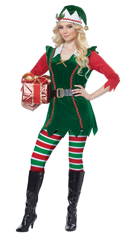 Festive Elf Costume by California Costumes