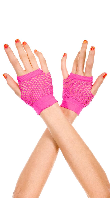 Fingerless Net Gloves by Music Legs