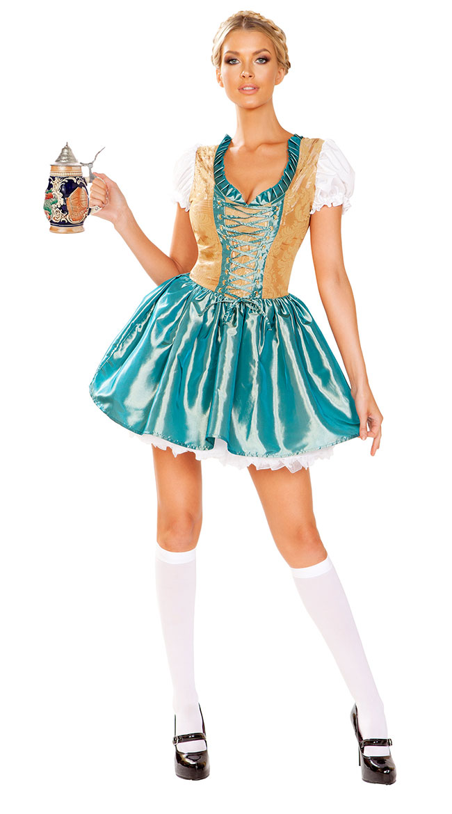 Flirty Beer Fraulein Costume by Roma