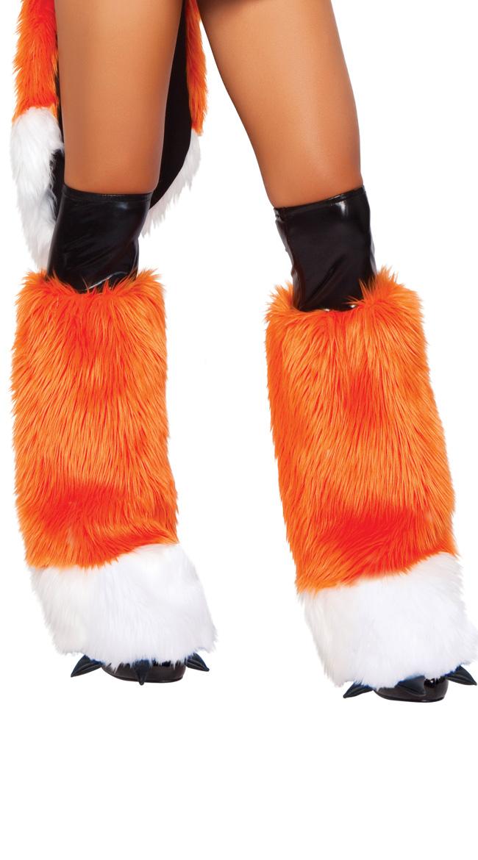 Fox Costume Legwarmers by Yandy Judy