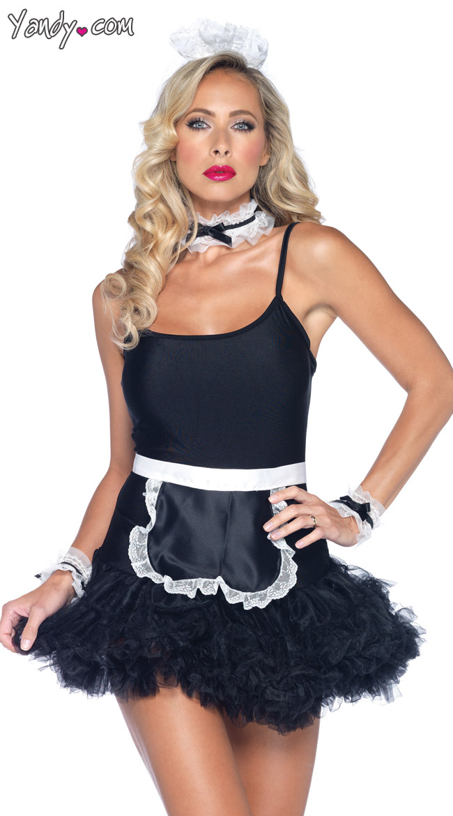 French Maid Kit by Leg Avenue