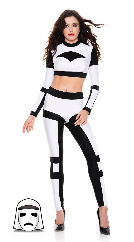 Galaxy Trooper Costume by Music Legs