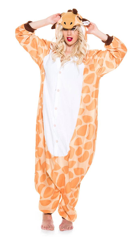 Gentle Giraffe Onesie Costume by Music Legs - sexy lingerie