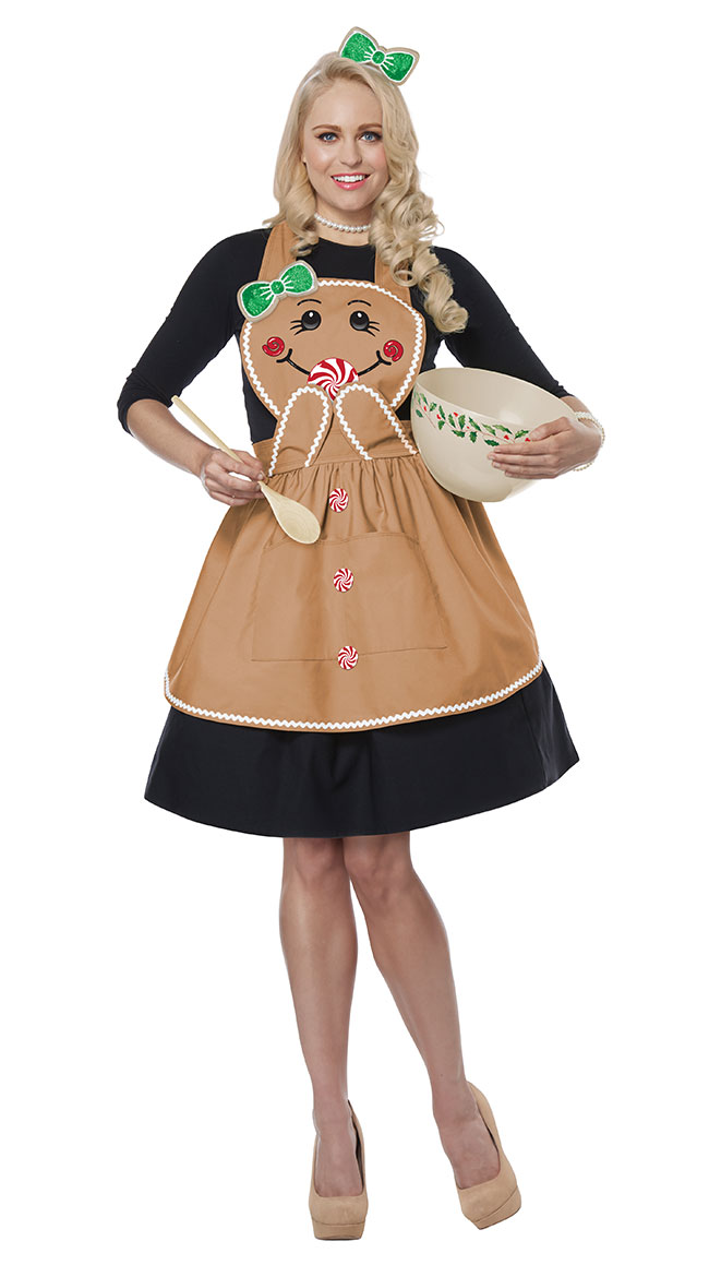 Gingerbread Apron Costume by California Costumes