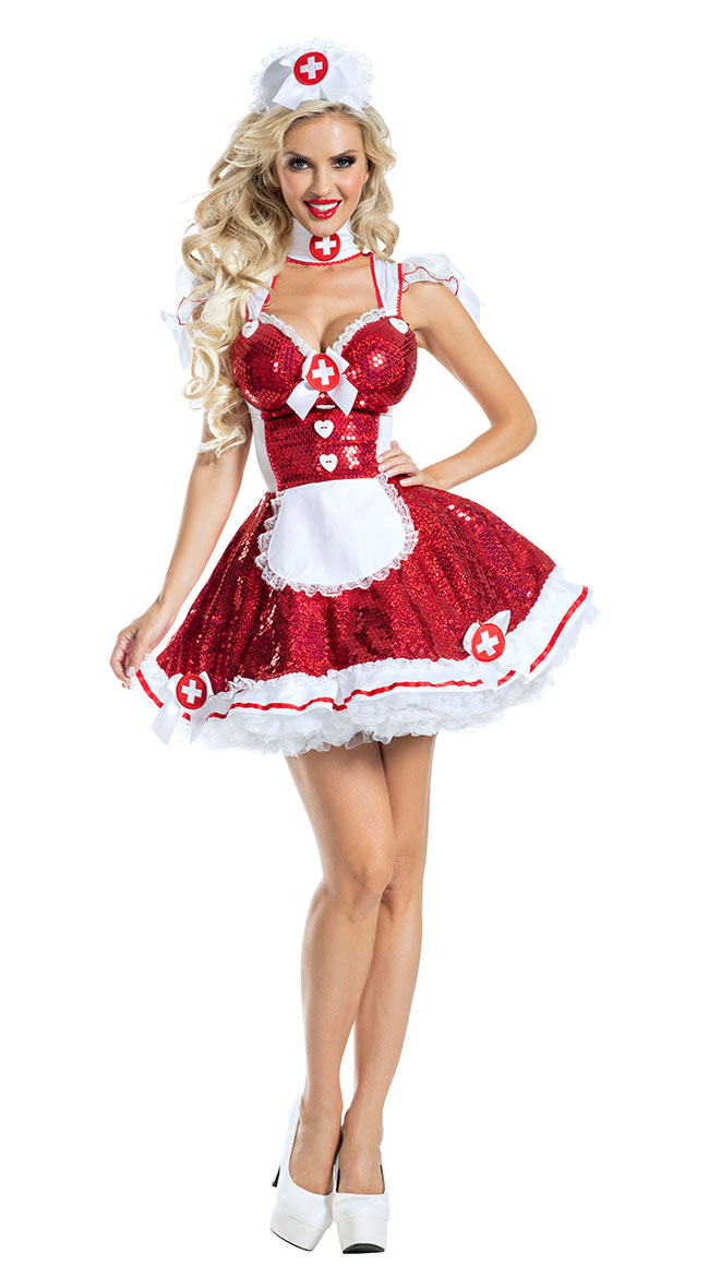 Glam Nurse Costume by Party King