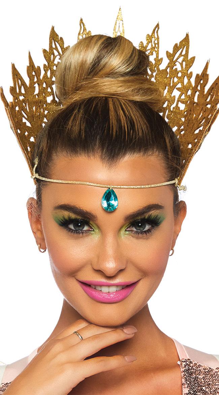 Glittering Queen Crown by Leg Avenue