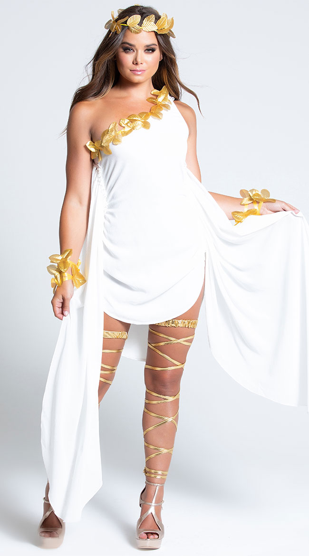 Goddess Beauty Costume by Music Legs