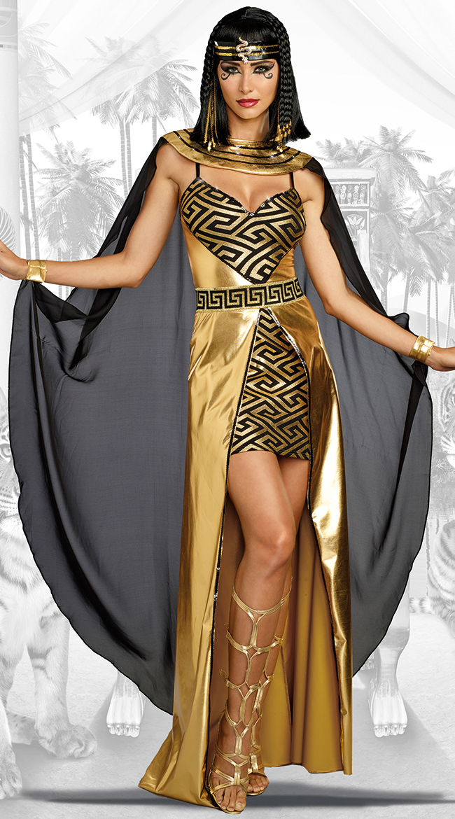 Golden Cleopatra Costume by Dreamgirl