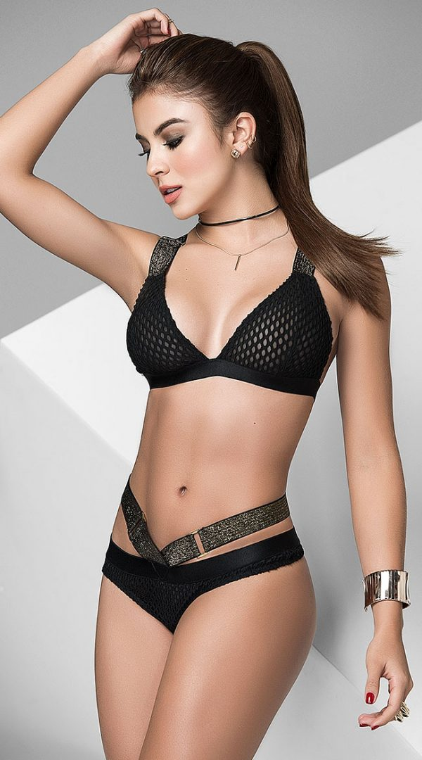 Good As Gold Bra Set by Mapale
