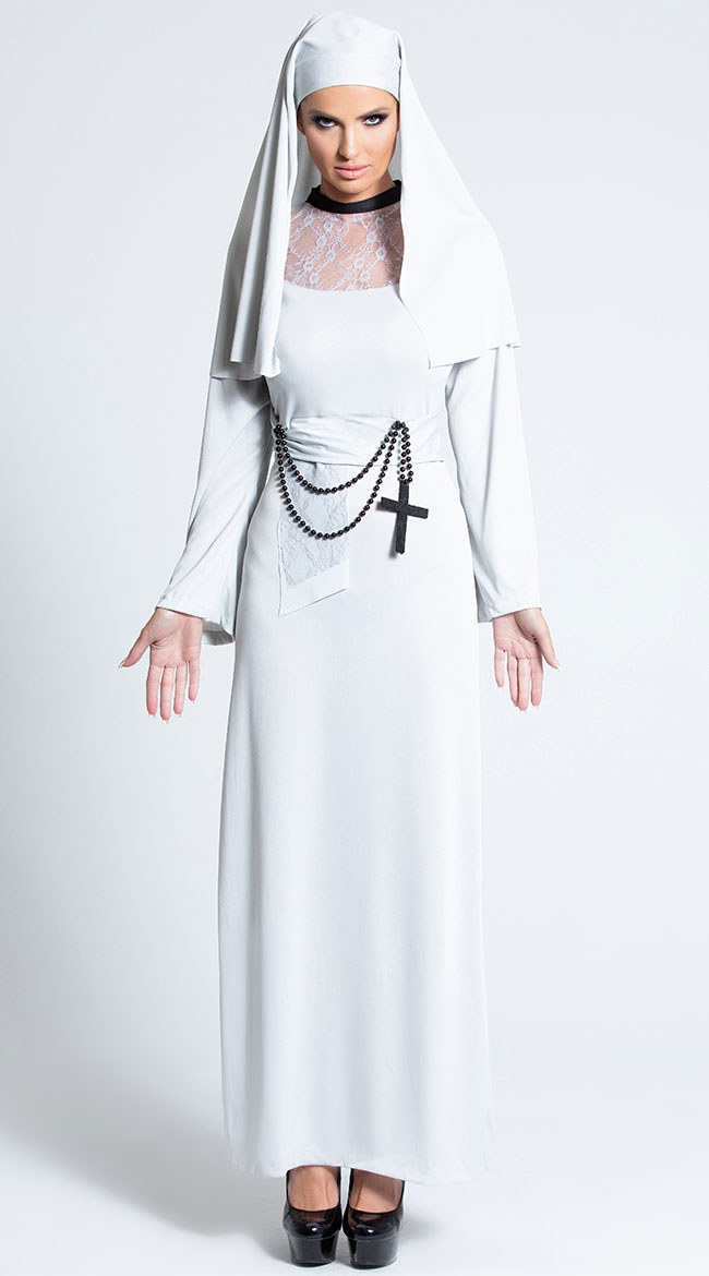 Gothic Nun Costume by Fever