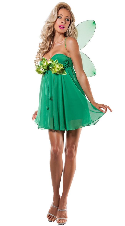 Green Fairy Princess Costume by Yandy Starline