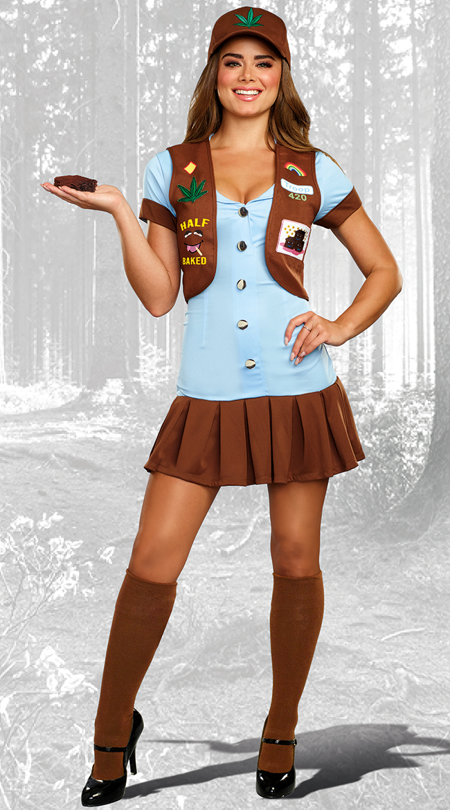 Half-Baked Scout Costume by Dreamgirl