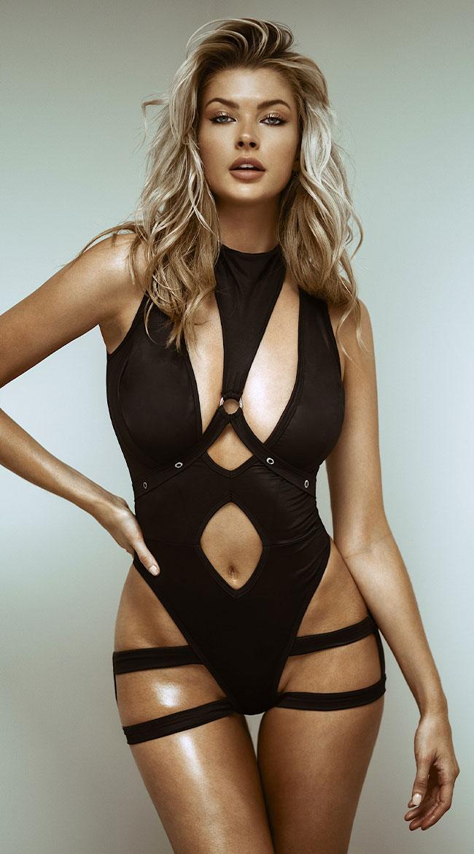 Harnessed Hottie Bodysuit by Mapale
