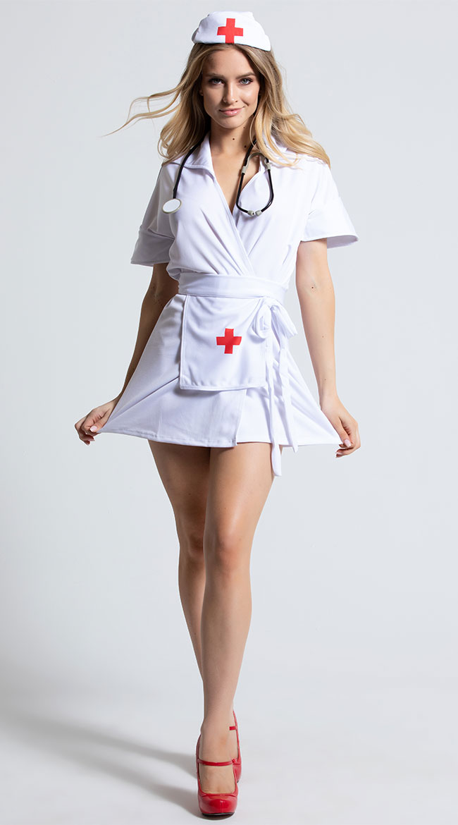 Heart Stopping Hottie Nurse Costume by California Costumes