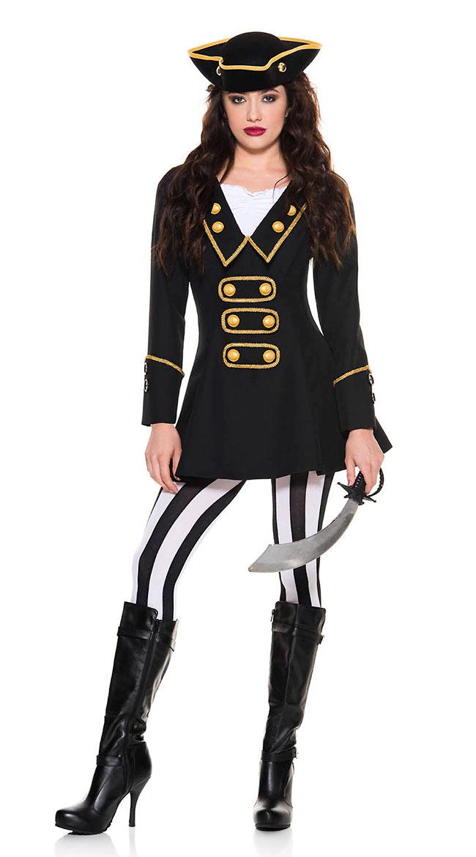 High Class Pirate Costume by Music Legs