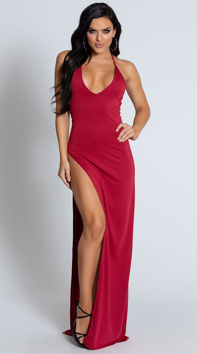 Hot Tamale Halter Gown by Roma