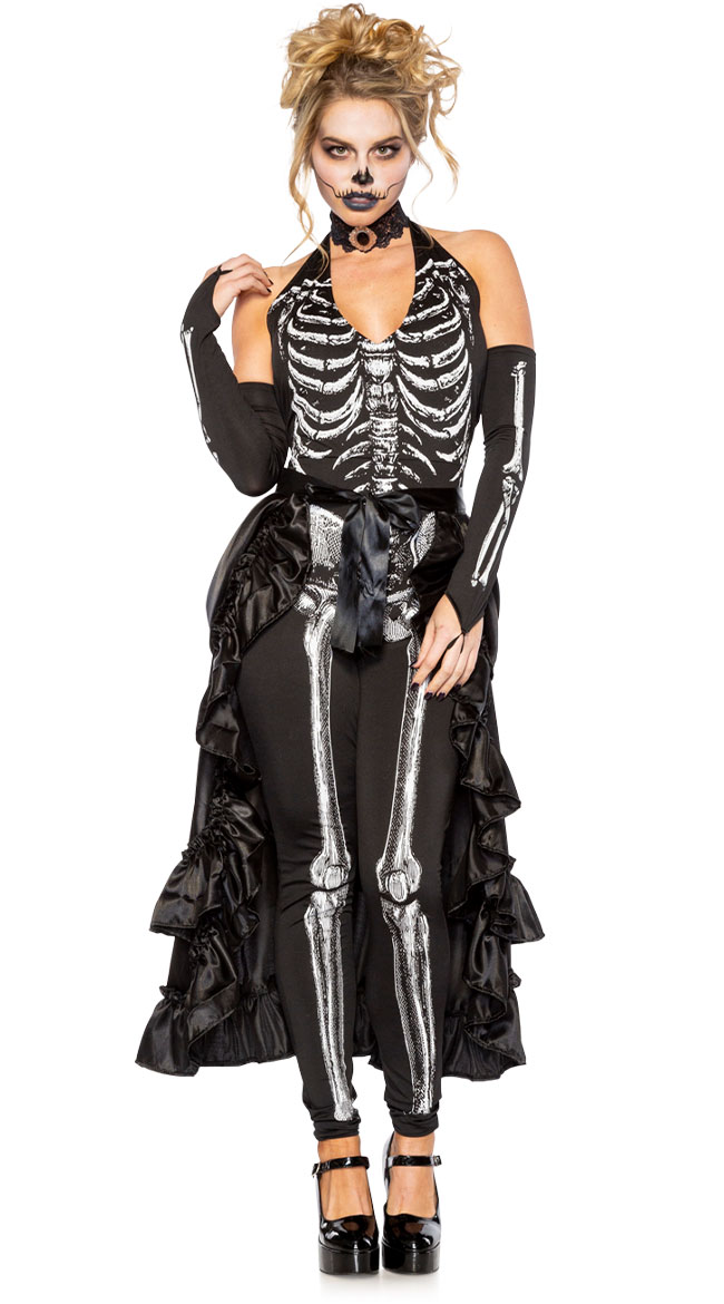 Hustle and Bustle Skeleton Costume by Seeing Red