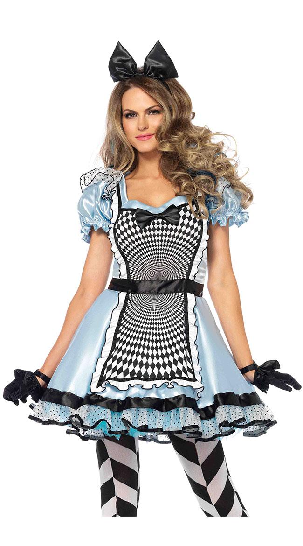 Hypnotic Miss Alice Costume by Leg Avenue