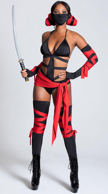 Killer Ninja Costume by Leg Avenue