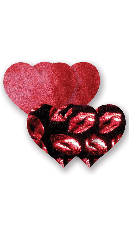 Kiss Heart Nippie Pasties 2 Pack by Entrenue