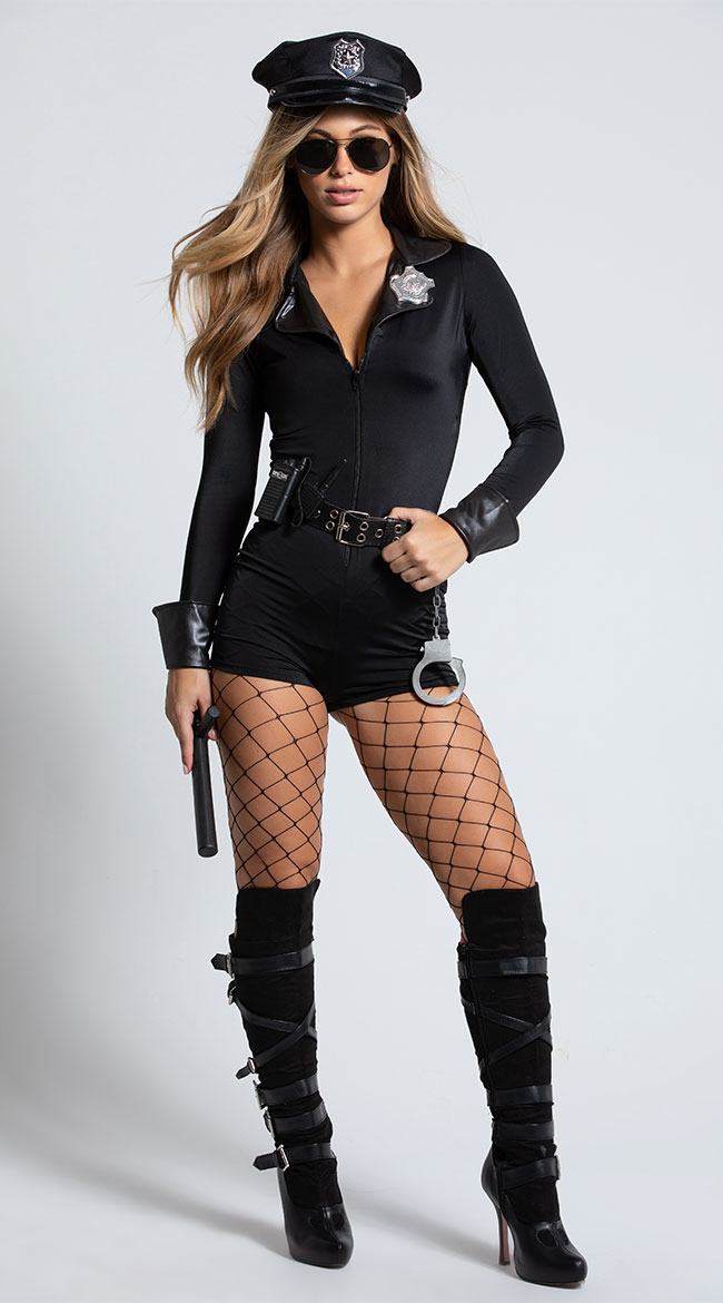 Lady Cop Costume by Roma