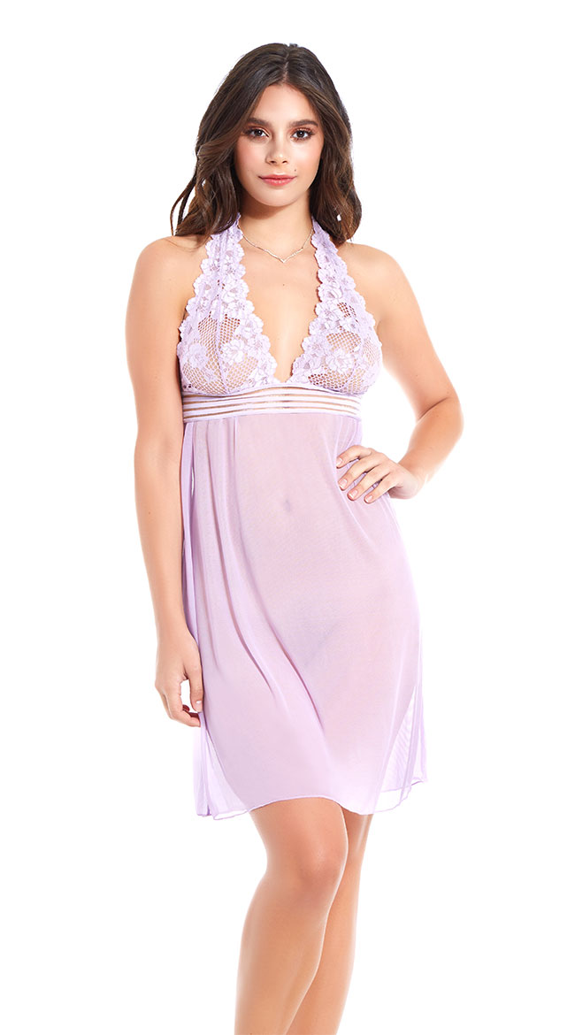 Lady Of The Night Babydoll Set by iCollection