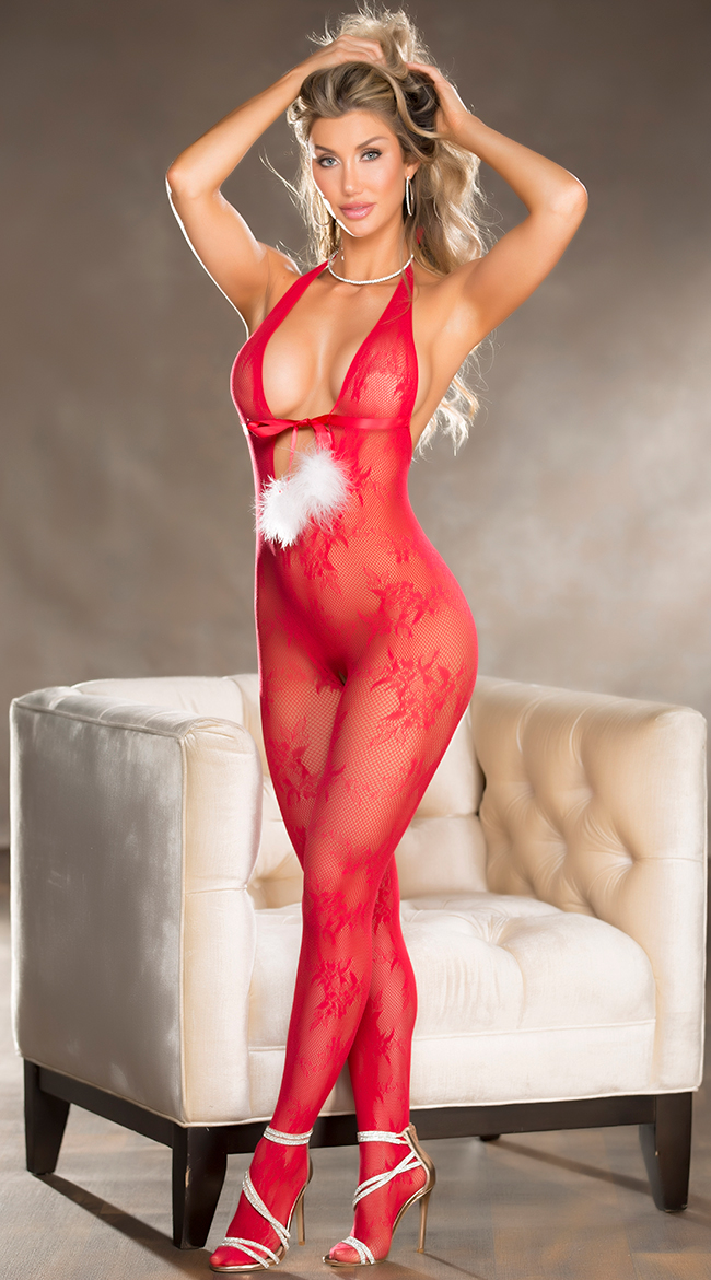 Lay It On Me Bodystocking by Shirley of Hollywood