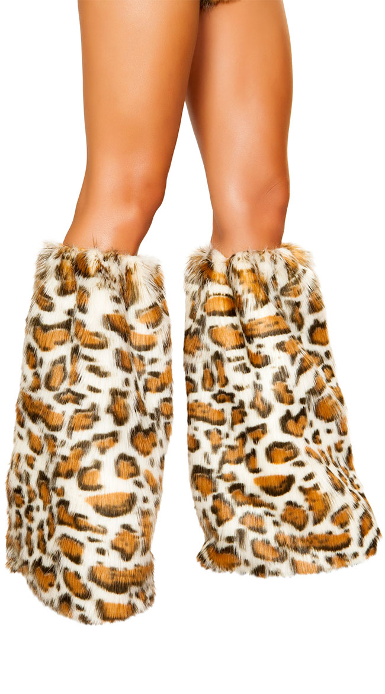 Leopard Princess Leg Warmers by Roma