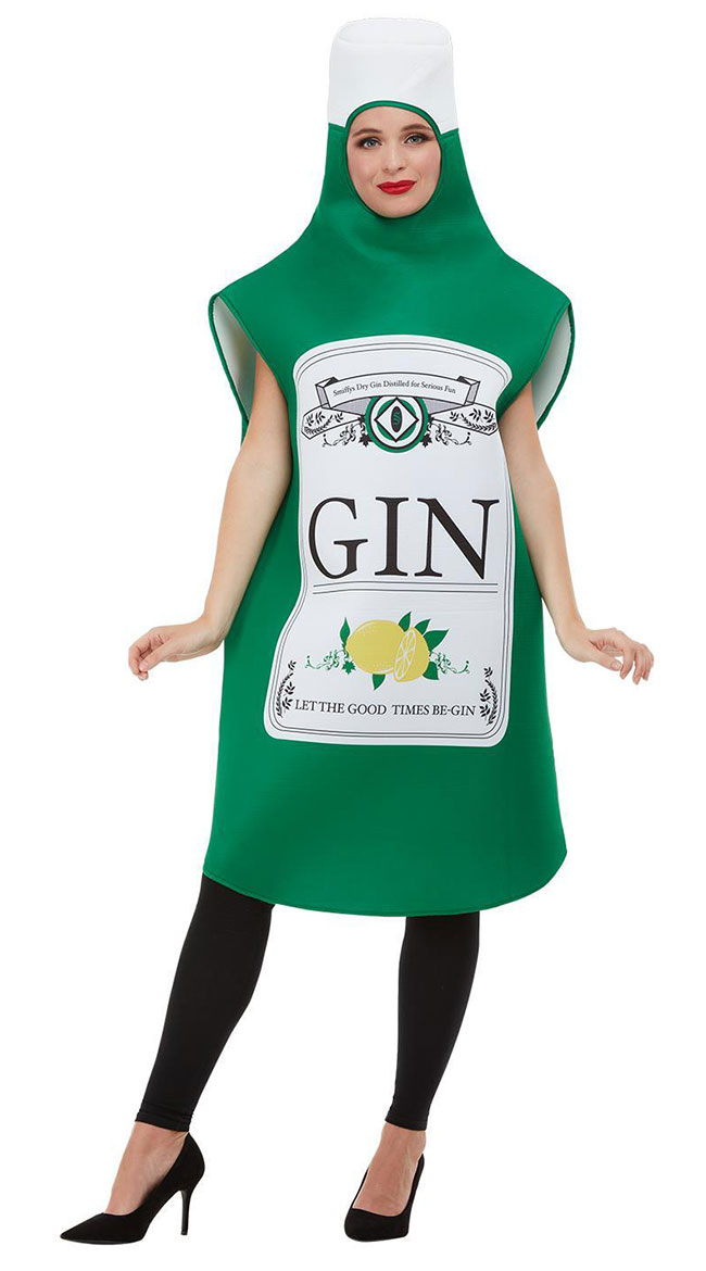 Let The Fun Be-Gin Costume by Fever