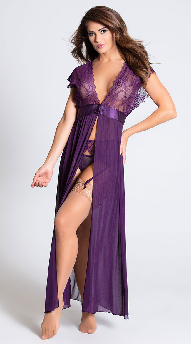 Locked Away Lover Lingerie Gown by Dreamgirl