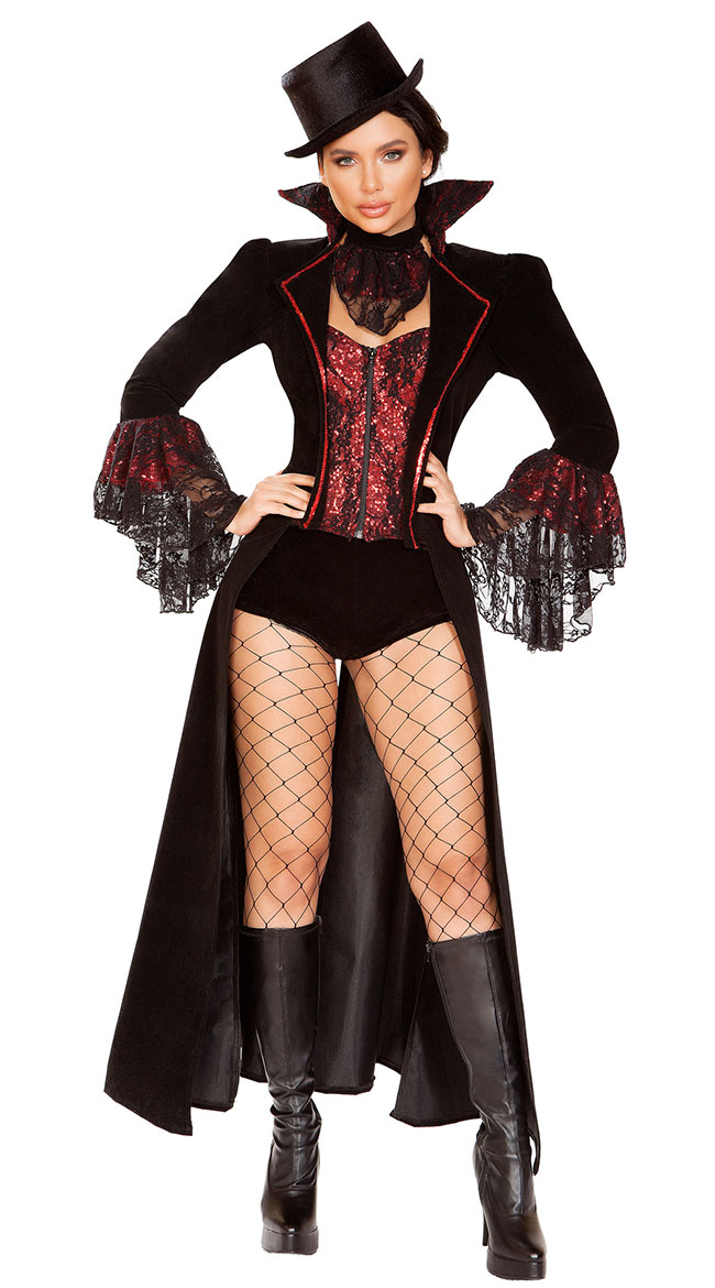 Lusty Lace Vampire Costume by Roma