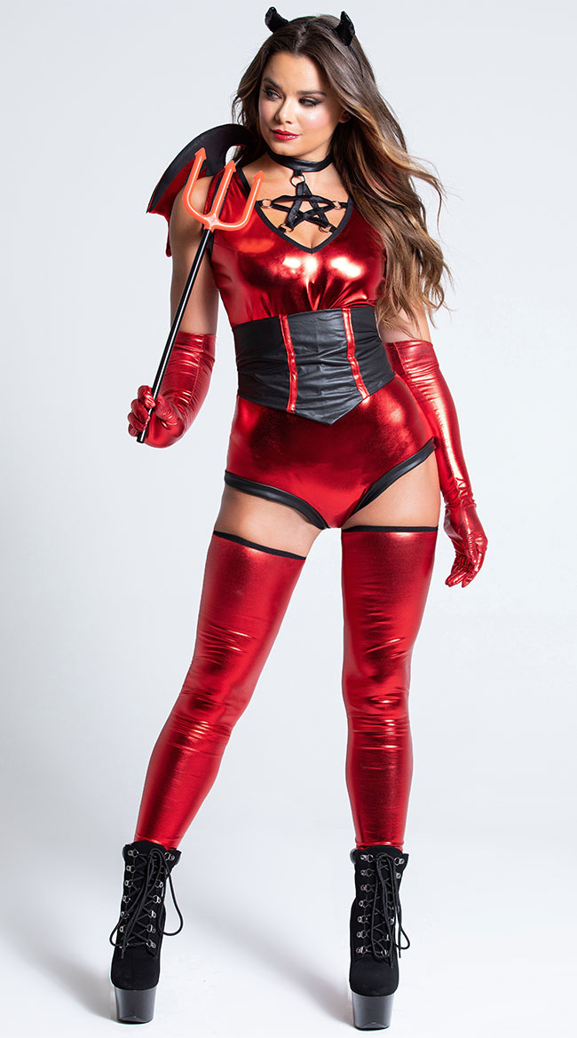 Malicious Devil Costume by Music Legs