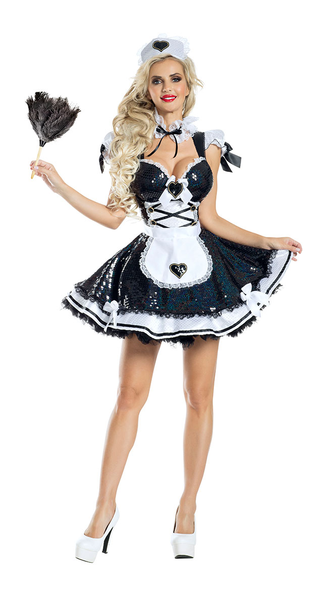 Marvelous Maid Costume by Party King